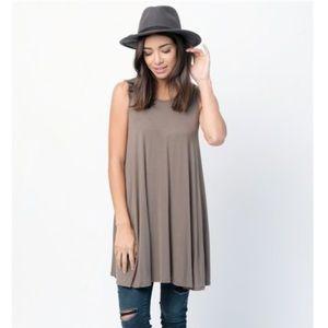 ❤️2 for $20❤️ Caralase Everyday Tank Mini Dress